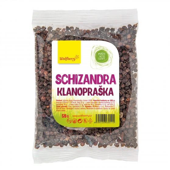 Schizandra plod Klanopraška 50g Wolfberry