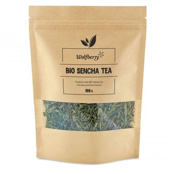 Zelený čaj Sencha BIO 100 g Wolfberry