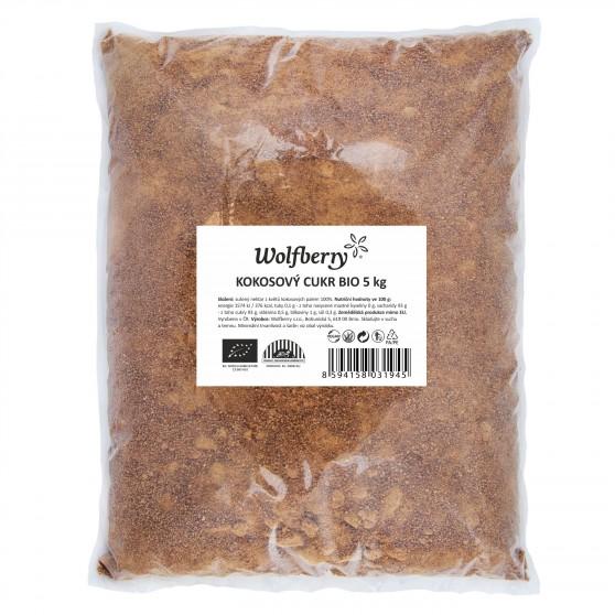 Kokosový cukr Wolfberry BIO 5 kg