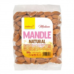 Mandle natural medium 250 g Wolfberry