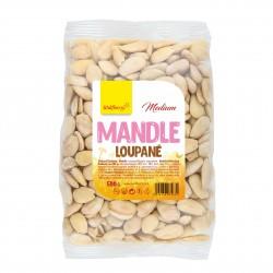 Mandle loupané 500g Medium