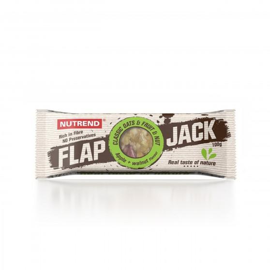 Tyčinka FLAPJACK jablko a vlašský ořech 100 g Nutrend