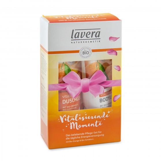 Pomerančové zážitky - dárková sada 2 x 200 ml Lavera