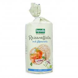 Rýžové chlebíčky s mořskou solí BIO 100 g Byodo