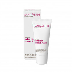 Aloe Vera extra bohatá krémová maska 30 ml Santaverde