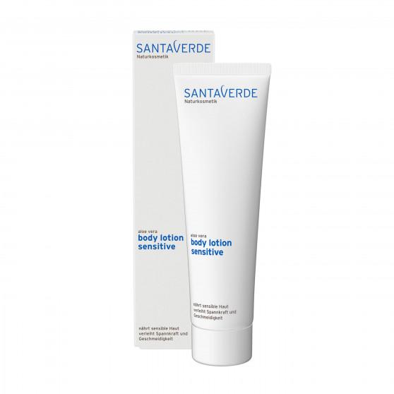 Aloe Vera tělové mléko Sensitive 150 ml Santaverde