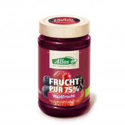 Džem lesní plody 75% BIO 250 g Allos