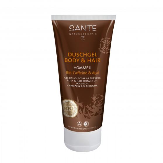 Sprchový gel Acai - Káva BIO 200 ml Sante