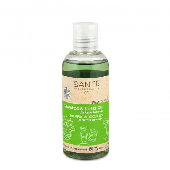 Šampon a sprchový gel pro děti BIO 200 ml Sante
