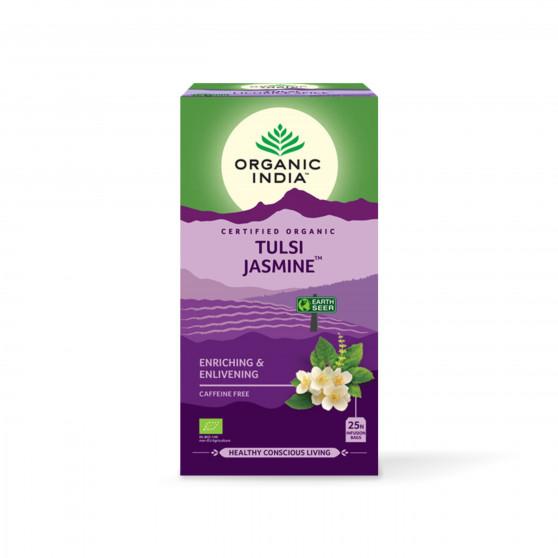 Tulsi jasmín BIO 25 sáčků Organic India