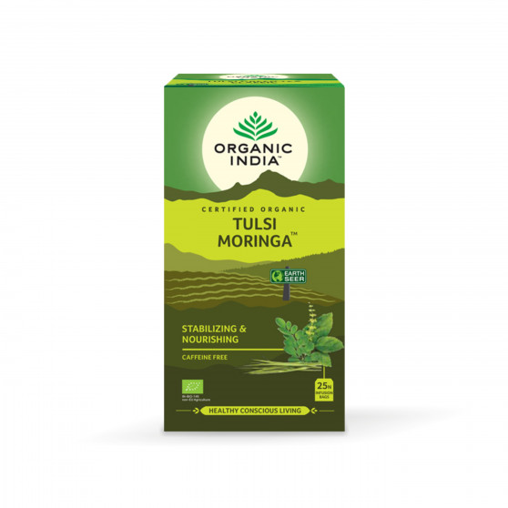 Tulsi Moringa BIO 25 sáčků Organic India