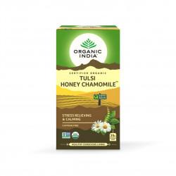 Tulsi med a heřmánek BIO 25 sáčků Organic India