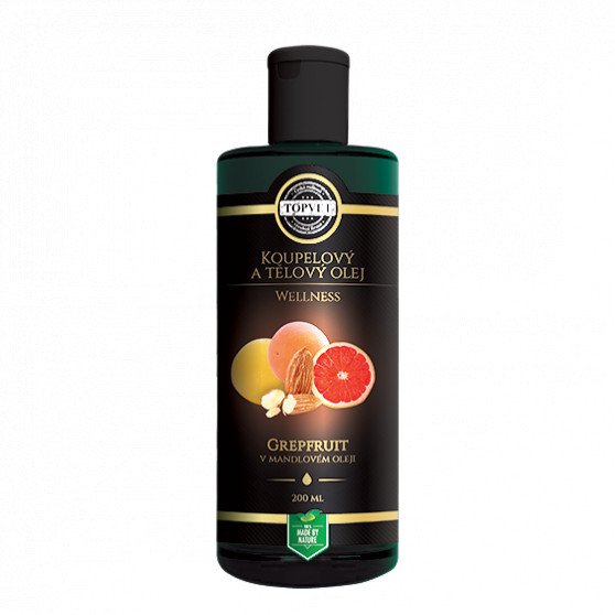 Grapefruit v mandlovém oleji 200ml Topvet