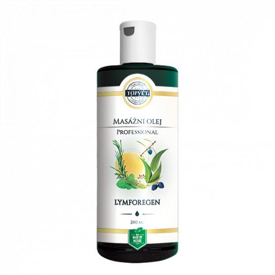 Lymforegen - masážní olej 200ml Topvet
