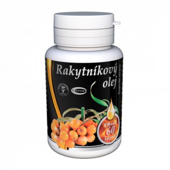 Rakytnikový olej - tobolky 60ks Topvet