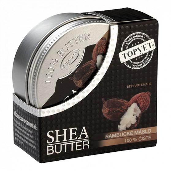 Bambucké máslo (shea butter) 100% 100ml Topvet
