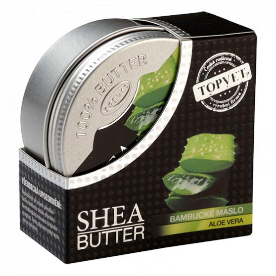 Bambucké máslo (shea butter) s aloe vera 100ml Topvet