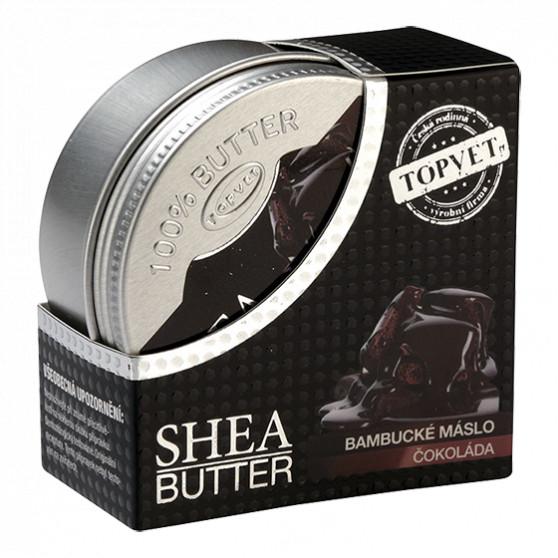 Bambucké máslo (shea butter) s čokoládou 100ml Topvet
