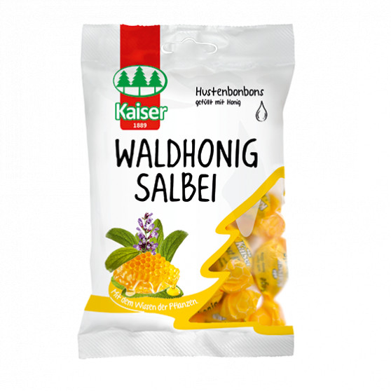 Šalvěj plněná medem (Waldhonig Salbei) 90g Topvet