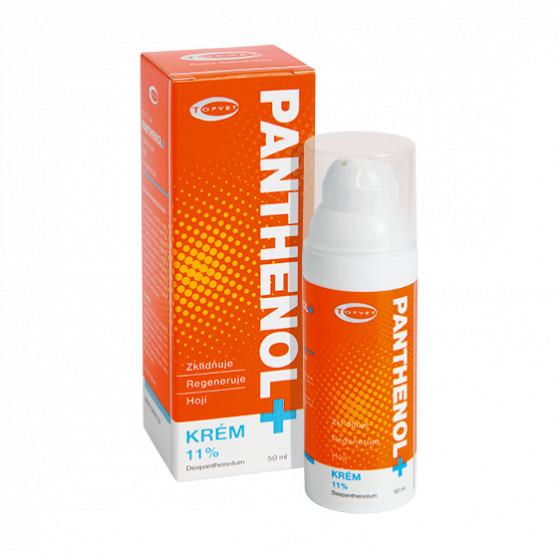 PANTHENOL + KRÉM 11% 50ml Topvet