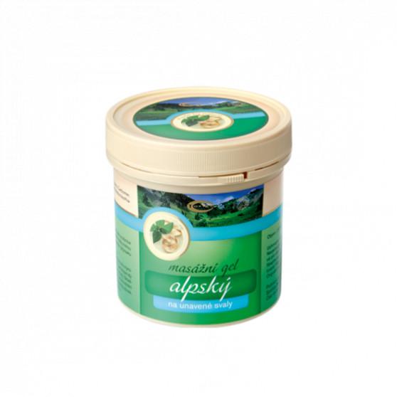 Alpský masážní gel 250ml Topvet