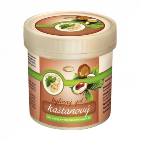 Kaštanový masážní gel 500ml Topvet