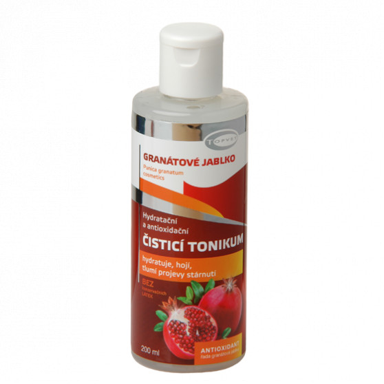 Antioxidační čistící tonikum 200ml Topvet