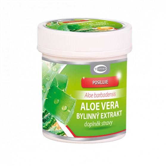 Aloe vera bylinný extrakt Topvet