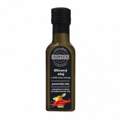 Olivovy olej s chilli - extra silný 100ml Topvet