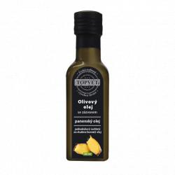 Olivovy olej se zázvorem 100ml Topvet