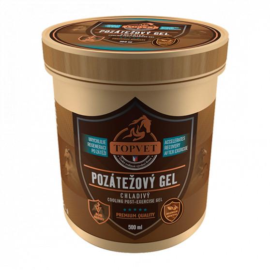 Pozátěžový gel - chladivý 500ml Topvet