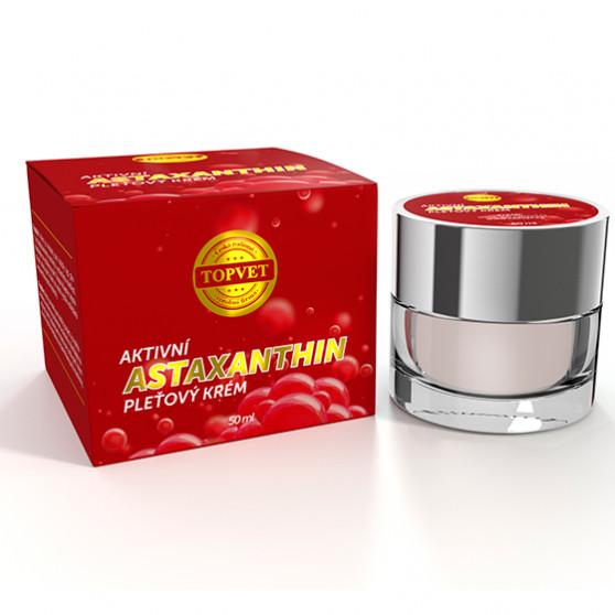 Astaxantin - aktivní pleťový krém 50ml Topvet