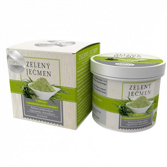 Zelený ječmen Topvet