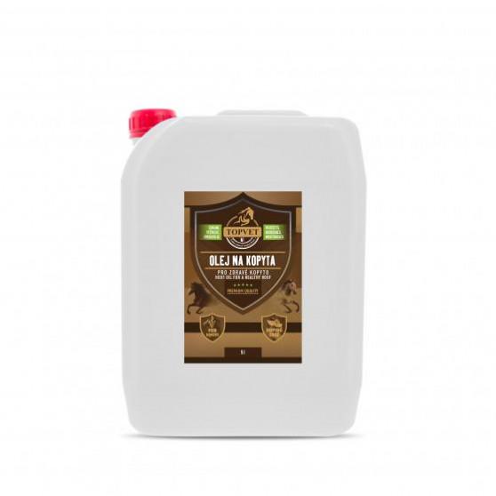 Olej na kopyta - pro zdravé kopyto 5l 5000ml Topvet