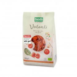 Těstoviny - Bezlepkové Volanti - červená čočka BIO 250 g Byodo