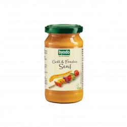 Grill-Fondue hořčice BIO 200 ml Byodo