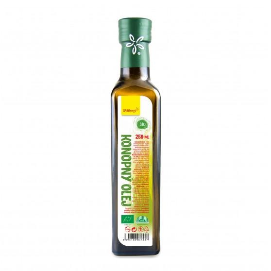 Konopný olej BIO 250ml Wolfberry