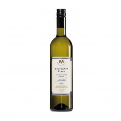 Sauvignon blanc víno pozdní sběr suché 2017 BIO 0,75l vinařství Marcinčák
