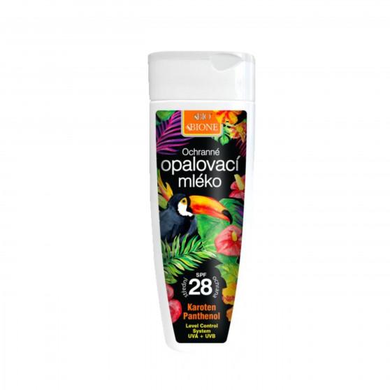 Ochranné opalovací mléko SPF 28 200 ml Bione Cosmetics