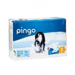 Jednorázové ekologické pleny pro děti 3-6 kg Pingo