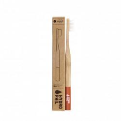 Bambusový zubní kartáček - červený Hydro Phil