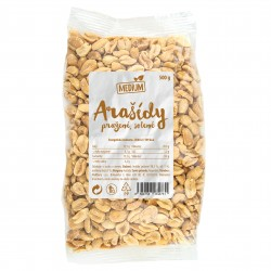 Arašídy pražené solené 500g Medium