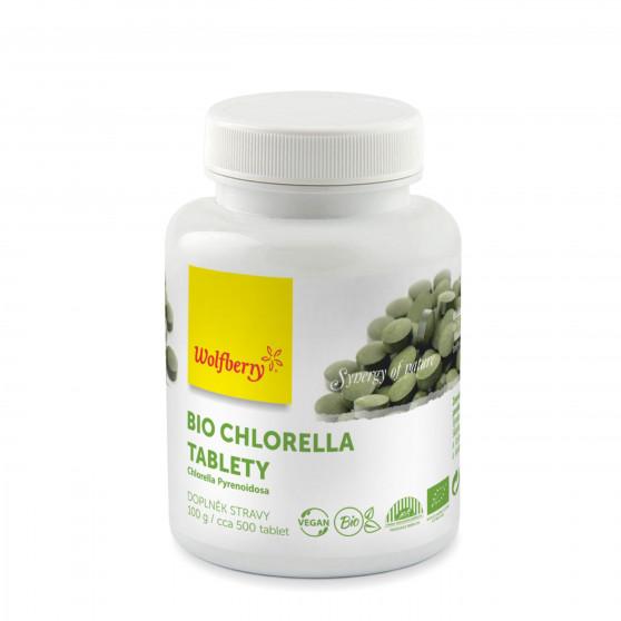 Chlorella BIO 500tablet Wolfberry - doplněk stravy