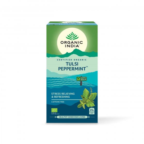 Tulsi s mátou BIO 25 sáčků Organic India