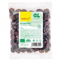 Brusinky slazené jablečnou šťávou BIO 100g Wolfberry