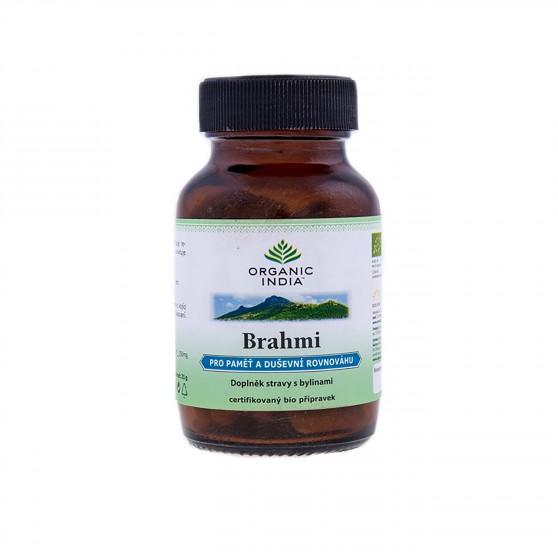 Brahmi BIO 60kapslí Organic India