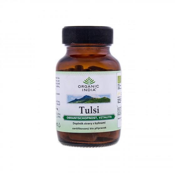 Tulsi BIO 60kapslí Organic India