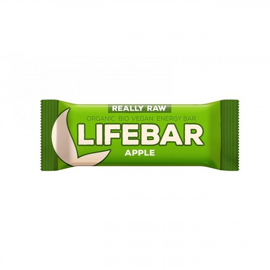 Lifebar tyčinka jablečná BIO 47g Lifefood