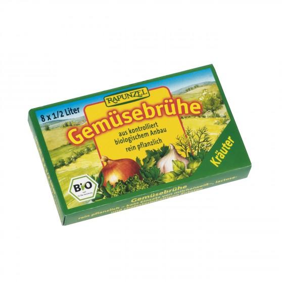 Zeleninový vývar bylinkový v kostce BIO 8 ks Rapunzel