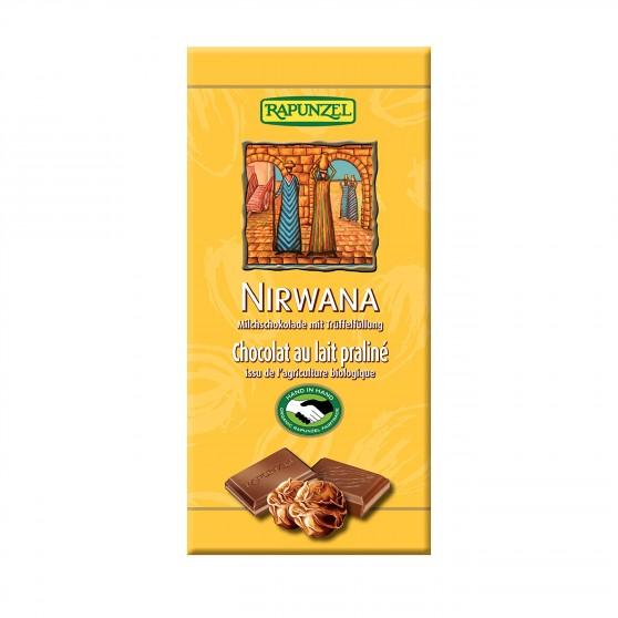 Čokoláda Nirwana mléčná BIO 100g Rapunzel